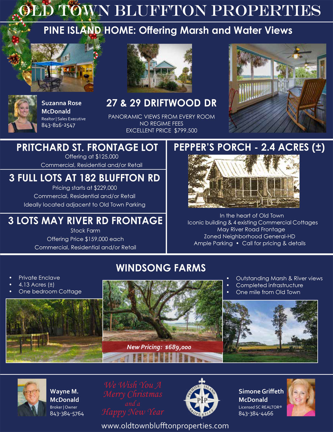 Stupendous Old Town Bluffton Properties Real Estate Property For Sale Download Free Architecture Designs Sospemadebymaigaardcom